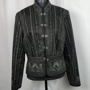 Antoni Melani Embroidered Blazer Size 14